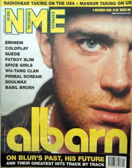 2000-11-04 NME 1 cover