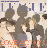 Love Action UK 7in 1981 front