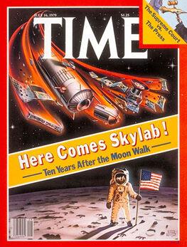 1979-07-16 TIME 1 cover Skylab