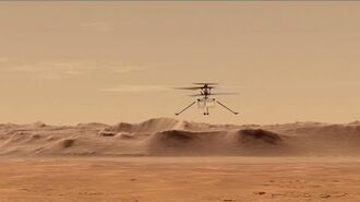 NASA's Ingenuity Mars Helicopter- Attempting the First Powered Flight on Mars