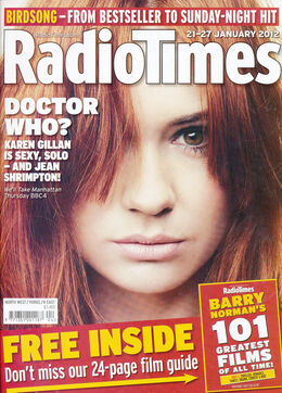 2012-01-21 RT 1 cover Karen Gillan