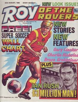 1986-08-23 ROY ROVERS 1 cover