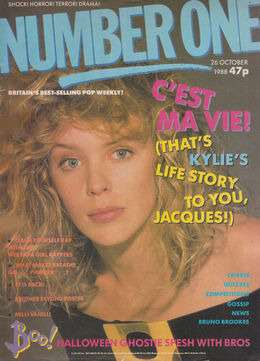 1988-10-26 No1 1 cover Kylie
