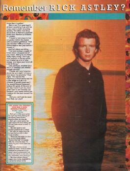 1991-01-09 Smash Hits Rick Astley 2