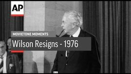 Wilson Resigns - 1976 - Movietone Moments - 16 Mar 18