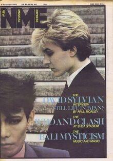 NME 1982-11-06 David Sylvian