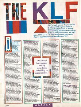 1991-05-01 Smash Hits KLF 1