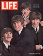 1964-08-28 Beatles on LIFE cover