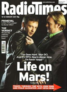 2007-02-10 RT 1 cover Life On Mars
