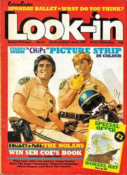1981-06-06 Look-In 1 cover