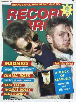 1982-11-13 RM 1 cover Madness
