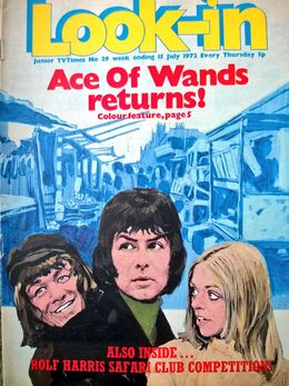 1972-07-15 Look-In 1 cover Ace of Wands