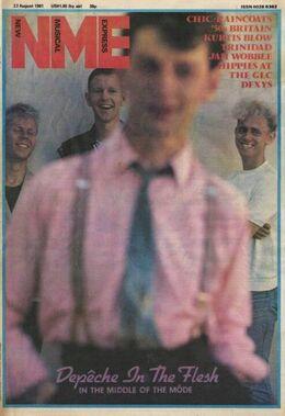 1981-08-22 NME 1 cover Depeche Mode