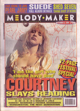 1994-09-03 MM courtney-love-on-the-cover-of-melody-maker-3rd-september-1994