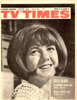 1964-08-02 TVT 1 cover Cilla
