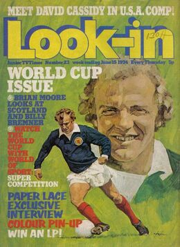 1974-06-15 Look-In 1 cover World Cup