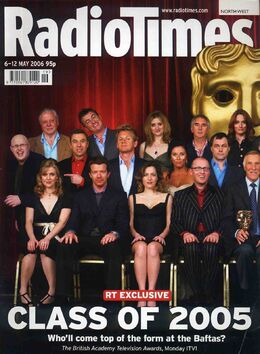 2006-05-06 RT 1 cover BAFTA