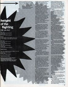1982-02-18 Smash Hits H17 3 feature plus height of Fighting lyrics