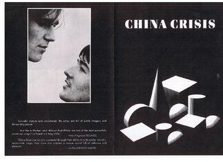 CC Difficult Shapes album promo flyer