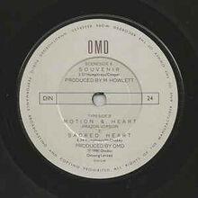 Souvenir 7in UK label B