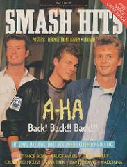 Smash Hits, July 1, 1987 – p.01 A-Ha cover