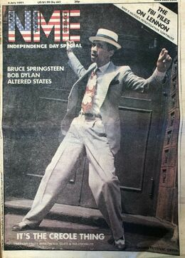 1981-07-04 NME 1 cover