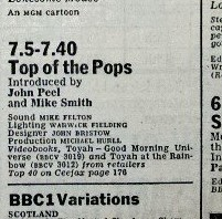 1983-08-04 RT listings TOTP Peel