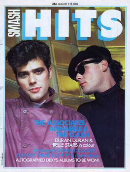 1982-08-05 Smash Hits 1 cover