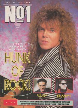 1987-04-11 No1 mag 1 cover