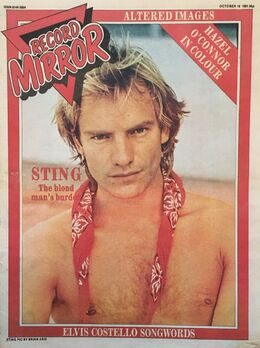 1981-10-10 RM 1 cover Sting
