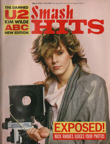 1985-04-24 Smash Hits 1 cover Nick Rhodes