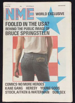 1987-07-18 nme 1 cover