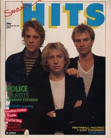 1980-10-16 Smash Hits 1 cover The Police