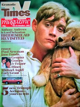 1981-10-10 TVT 1 cover Brideshead Revisited