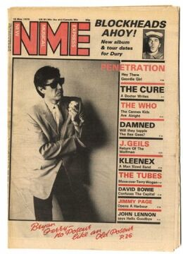 1979-05-19 NME 1 cover