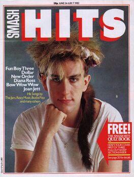 1982-06-24 Smash Hits 1 cover