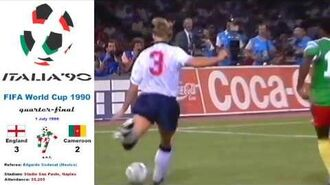 World Cup Italy 1990- England - Cameroon 3-2 (Quarter-final) - HD
