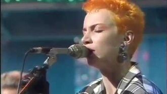 Eurythmics - The First Cut, Here Comes The Rain Again, Right By Your Side (Live On The Tube 1983)