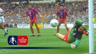 1990 FA Cup Final - Crystal Palace v Manchester United - From The Archive