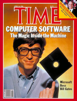 1984-04-16 TIME 1 cover Bill Gates