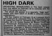 OMITD album release and tour news Record-Mirror-1980-02-16 p.04