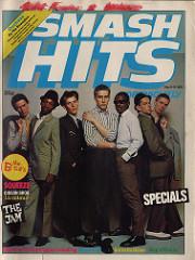 Smash Hits, September 6 - 19, 1979 - p.01 Specials cover