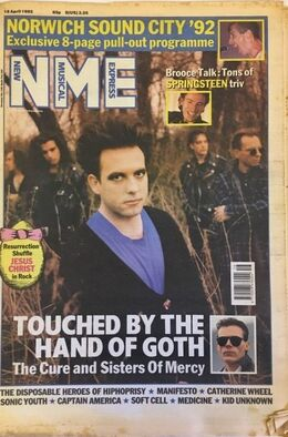 1992-04-18 NME 1 cover