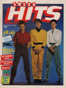 Smash Hits, November 1, 1979 - p.01 Skids cover