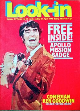 1972-04-15 Look-In 1 cover