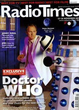 2003-11-22 RT 1 cover Doctor Who 2