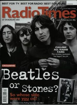 2003-08-23 RT 1 cover 1 The Beatles