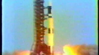 Launch of Skylab 1 (NBC)