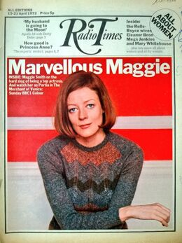 1972-04-15 RT 1 cover Maggie Smith
