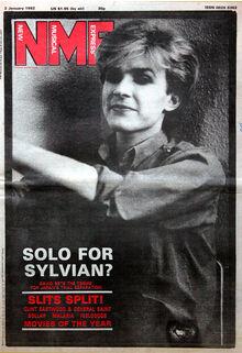 NME 1982-01-02 David Sylvian - Solo for Sylvian